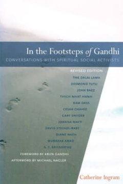 In the Footsteps of Gandhi Cover - Catherine Ingram